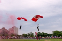Canadian Military Skyhawks Parachute Team - Halifax, Nova Scotia