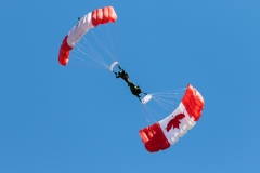 Canadian Military Skyhawks Parachute Team - Greenwood, Nova Scotia