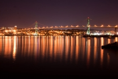 Angus L. MacDonald Bridge - Halifax, Nova Scotia