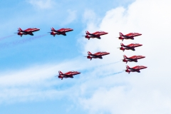 RAF Red Arrows - Halifax, Nova Scotia