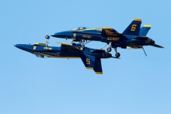 U.S. Navy Blue Angels - F/A - 18 Hornet A/B - Air Show Atlantic - Greenwood, Nova Scotia