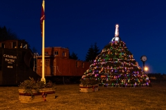 Musquodoboit Harbour, Nova Scotia - Lobster Trap Christmas Tree