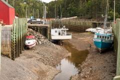 Bay of Fundy - Hall's Harbour. Nova Scotia