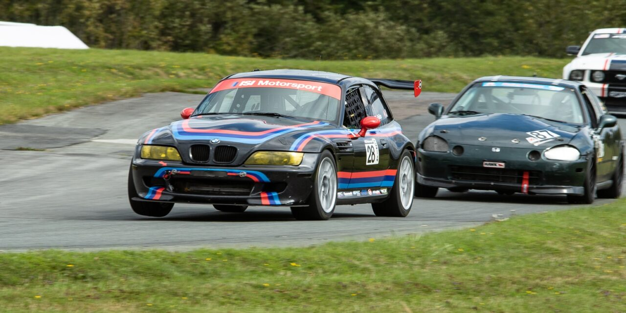 High Speed Action At Atlantic Motorsport Park