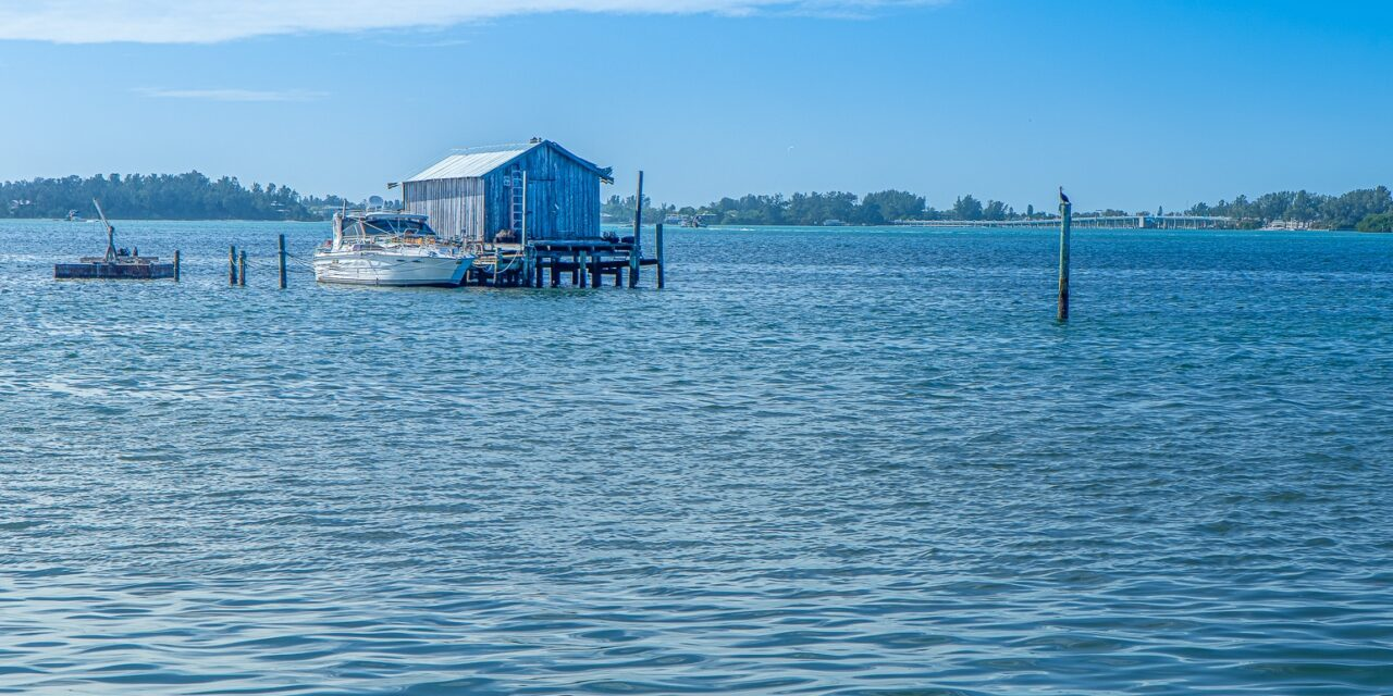 Island Boathouse In Cortez, Florida