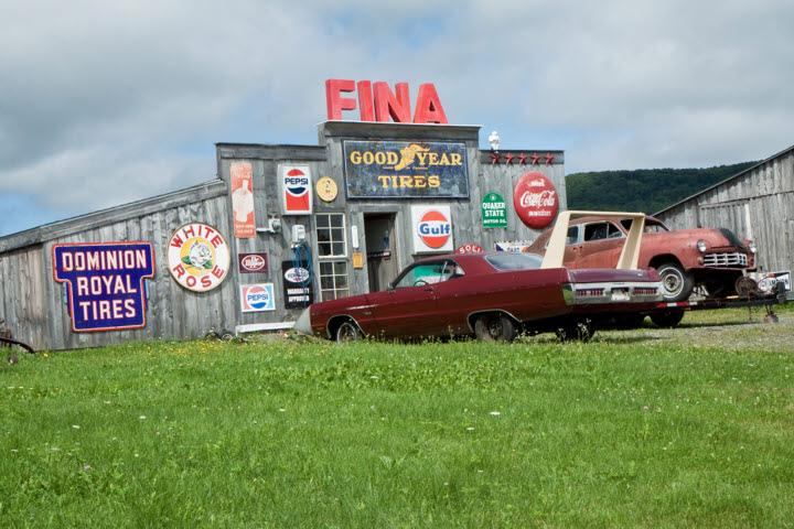 Fina Flashback in Canning, Nova Scotia
