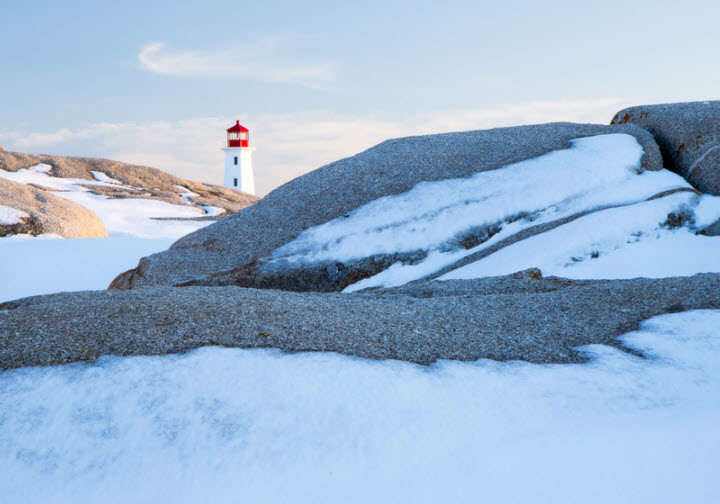 Peggy's Cove ice